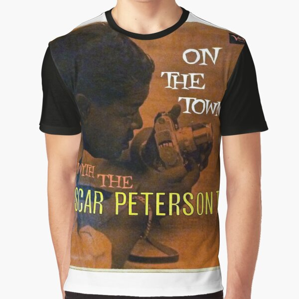 The Oscar Peterson Trio, On The Town With The Oscar Peterson Trio 1958 Hard Bop  Graphic T-Shirt