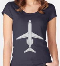 Douglas DC-9-15 Women's Fitted Scoop T-Shirt