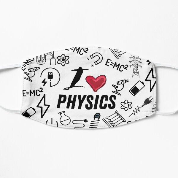 i love physics for physics teacher Mask