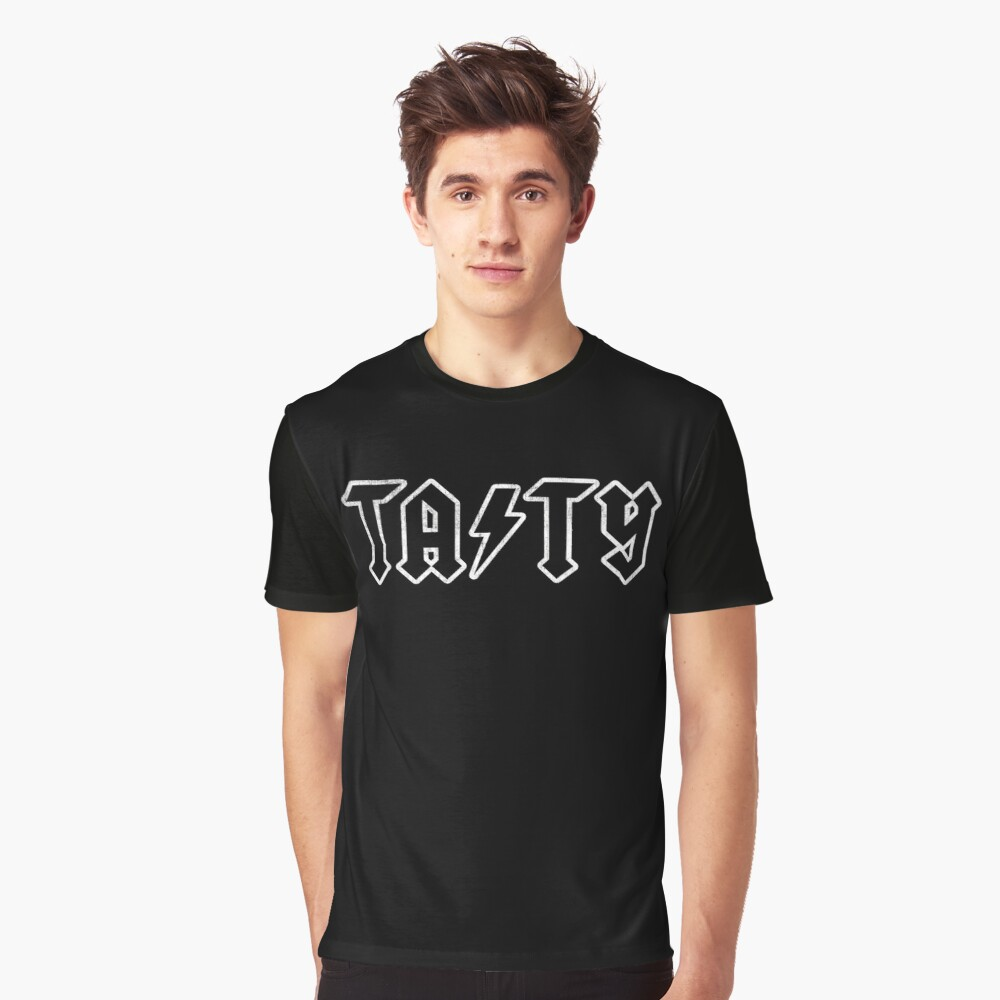 TASTY™ ACDC Graphic T-Shirt Front