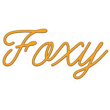 Foxy Text by zfox