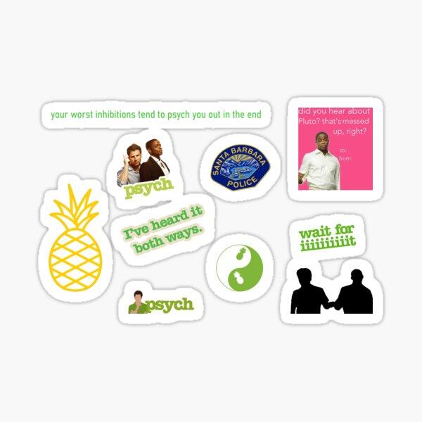 Psych Pack Sticker