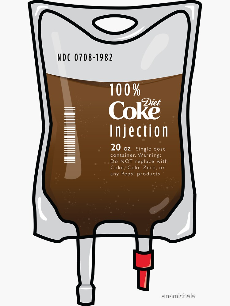 Diet Coke IV Bag by anamichele