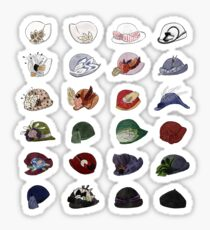 Miss Fisher's Fabulous Hats Sticker
