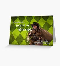 Belsnickel - Dwight at Christmas Greeting Card