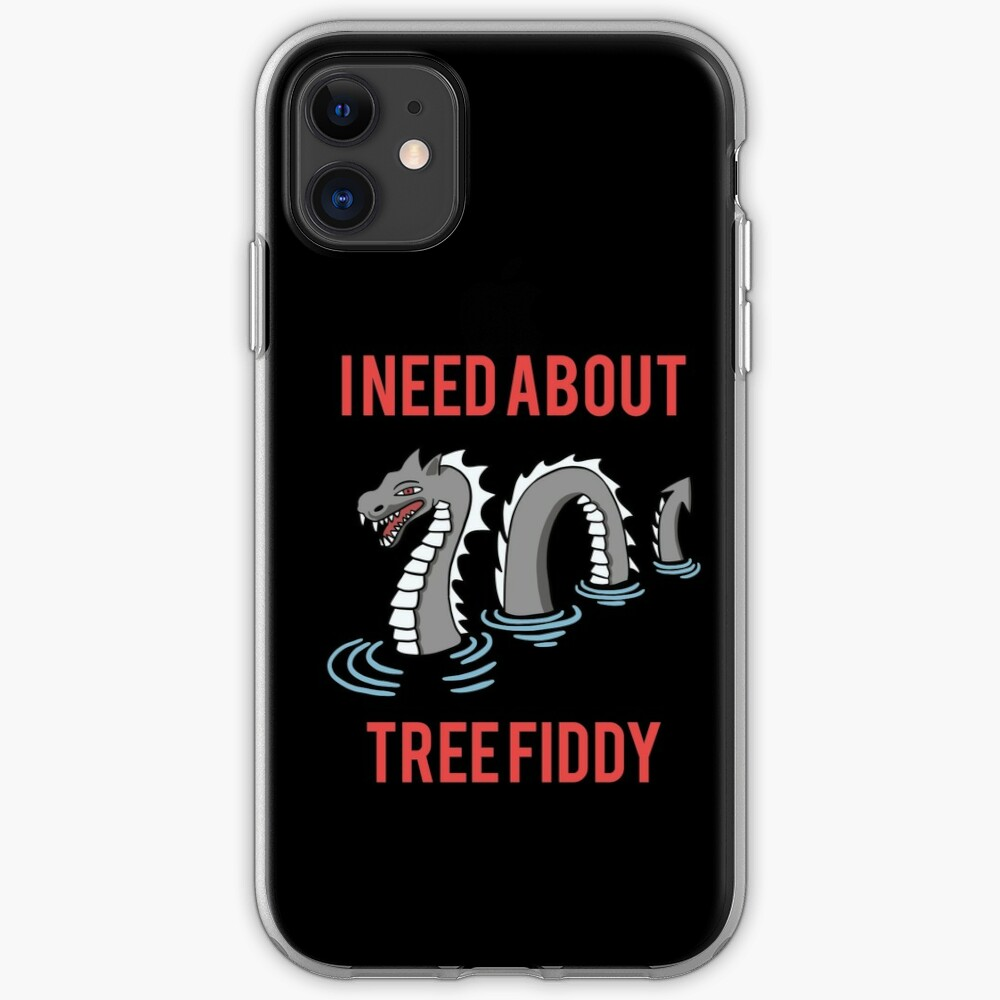 """""""Loch Ness - I Need About Tree Fiddy Meme"""" iPhone Case ..."""