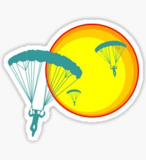 sun sky dive Sticker