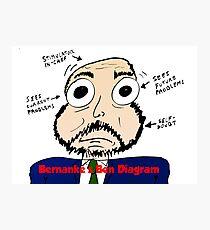 Bernanke the Ben Diagram Photographic Print