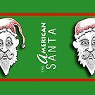 The American Santa - Santa Bill MUG by Dave-id