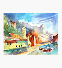 Italy - Vernazza 07 Photographic Print