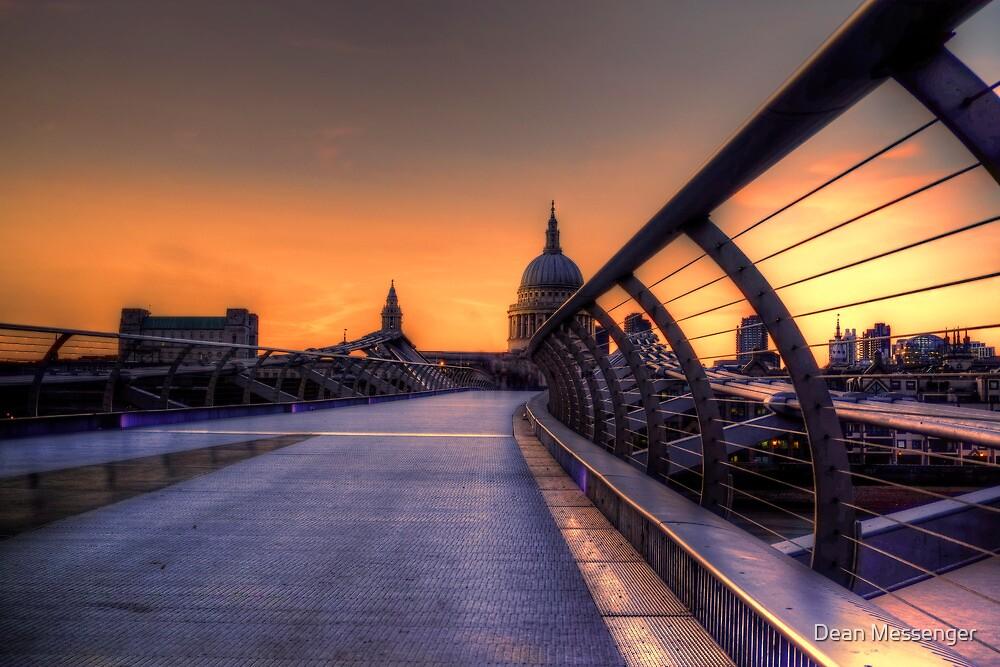 St Pauls Sunset by Dean Messenger