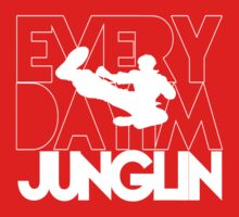 Every Day Im Junglin (White) | Unisex T-Shirt