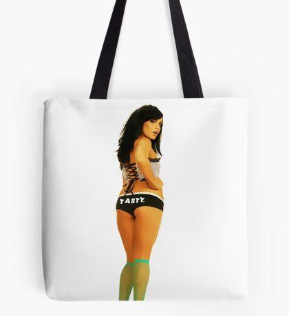 Tasty® Brand Lingerie Pinup Girl Tote Bag