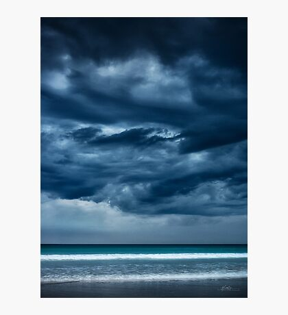 Threatening Skies Photographic Print
