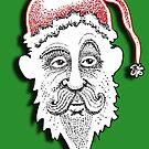 The American Santa - Santa Bill  by Dave-id