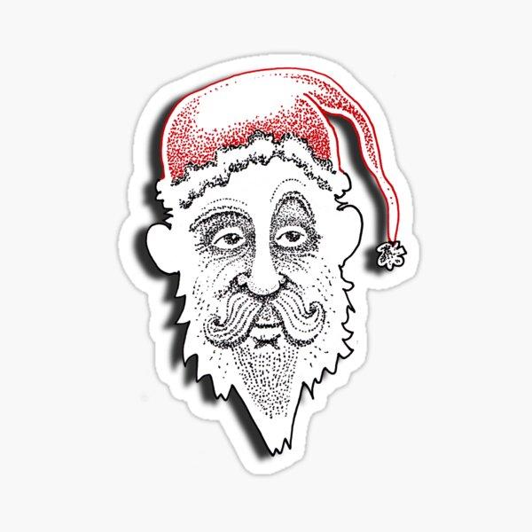 The American Santa - Santa Bill  Sticker