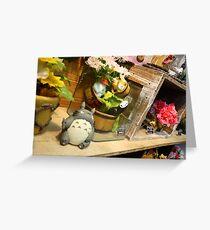 Totoro shop Greeting Card