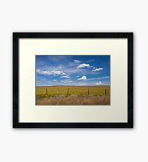 Rural scene. Framed Print