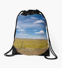 Rural scene. Drawstring Bag