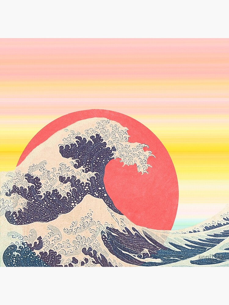 Hokusai revisited by anni103