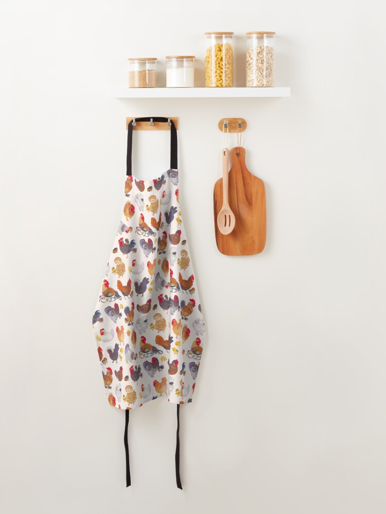Alternate view of Chicken and Chick Apron