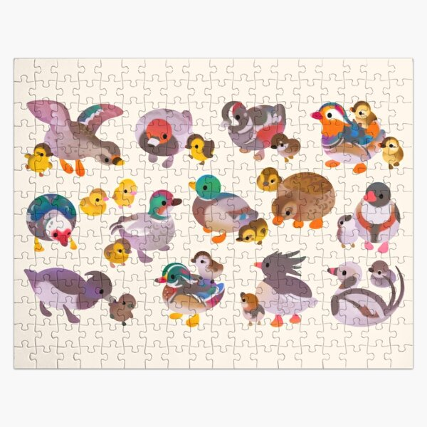 Duck and Duckling Jigsaw Puzzle