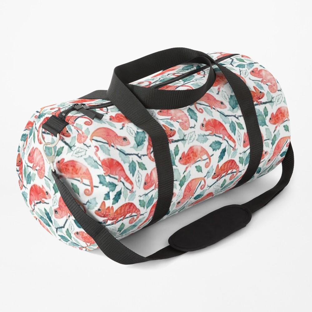 Chameleon garden Duffle Bag