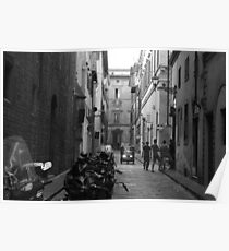 Street in Florence Poster