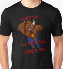 Aqua Buffalo! (Worms) Unisex T-Shirt