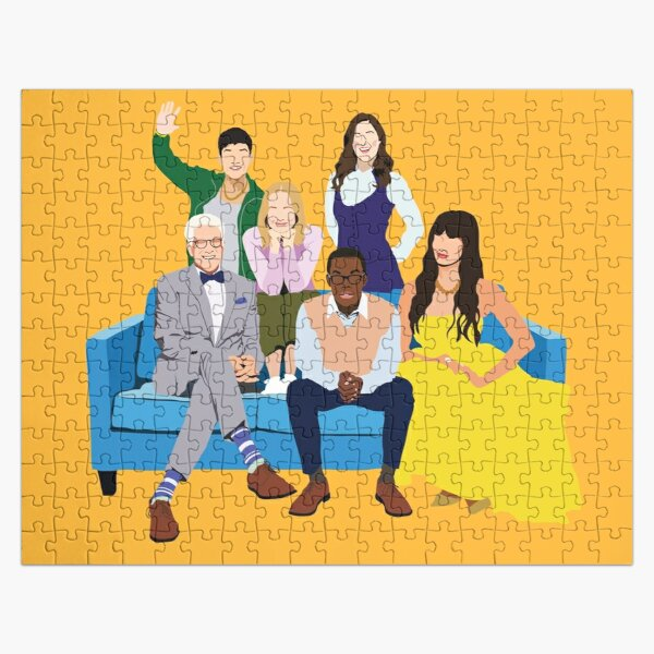 The Good Place Characters Jigsaw Puzzle