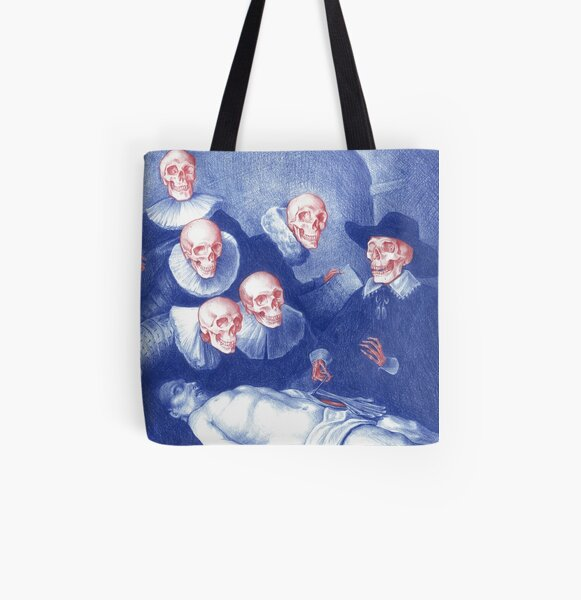 The Anatomy Lesson of Dr. Nicolaes Tulp All Over Print Tote Bag