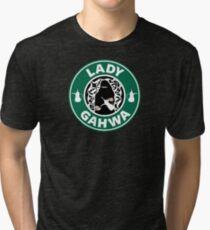 Lady Gahwa Tri-blend T-Shirt
