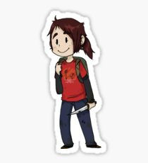 Ellie-The Last Of Us Sticker