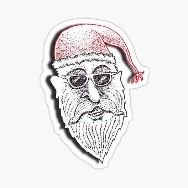The American Santa - Santa Stew Sticker