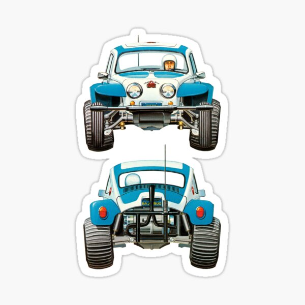 Sand Buggy Bug Sticker