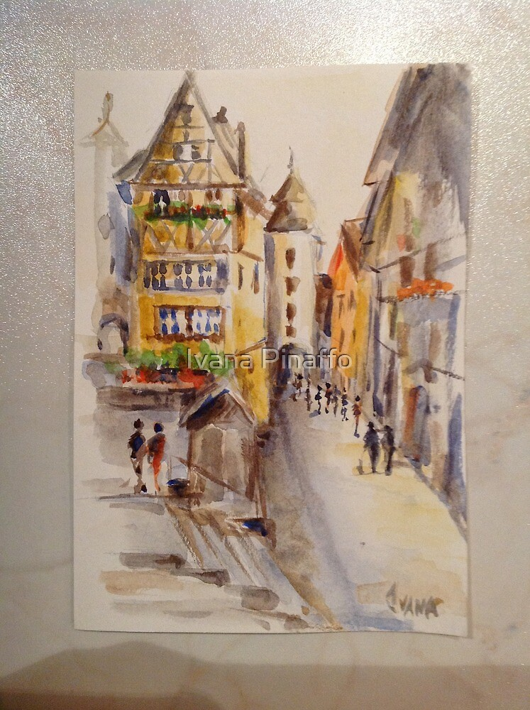 Rothenburg (Germany) by Ivana Pinaffo