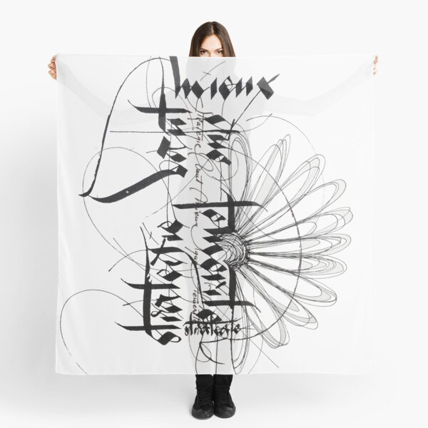 graphic work Scarf