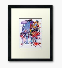 The Childs Dream. Framed Print