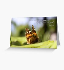 Butterfly – Trust – 2:3 Greeting Card