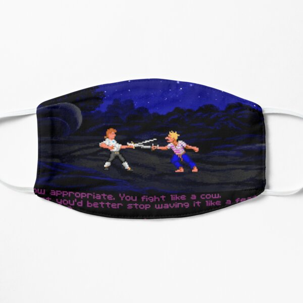 Monkey Island Insult Fight Flat Mask
