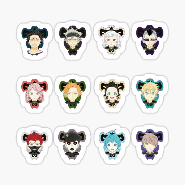The Black Bulls | Black Clover Sticker