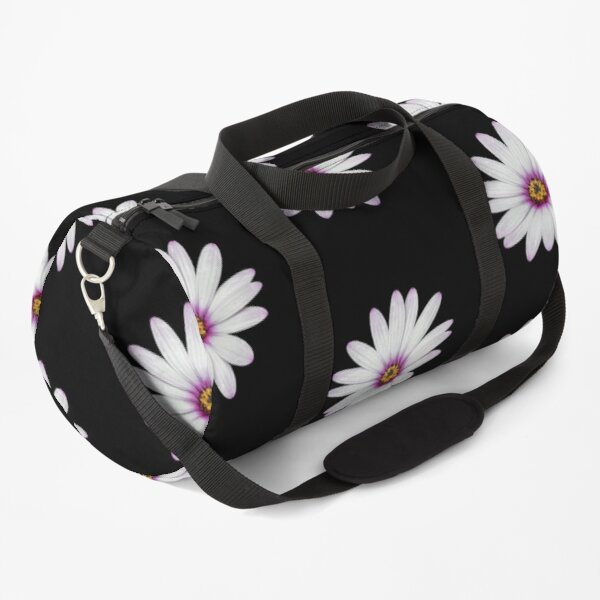 African Daisy Duffle Bag
