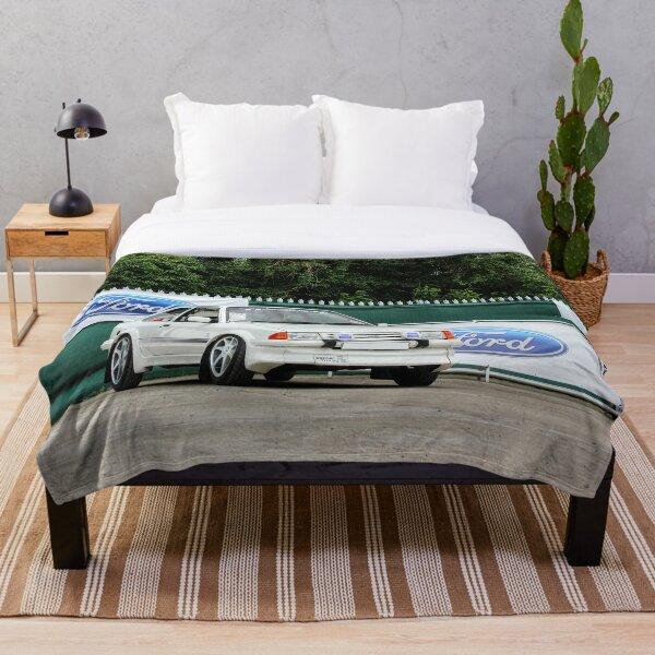 Ford Escort RS Turbo Throw Blanket