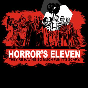 Horror's Eleven Sticker by Ryleh-Mason
