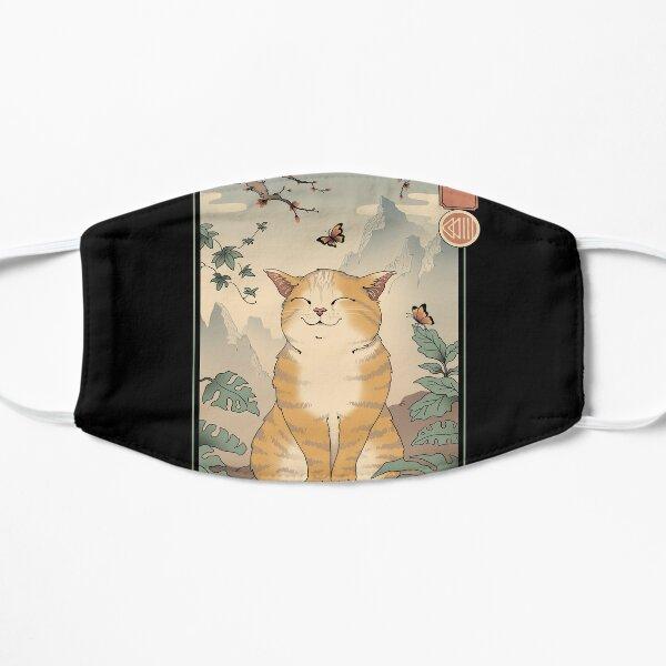 Edo Cat Flat Mask
