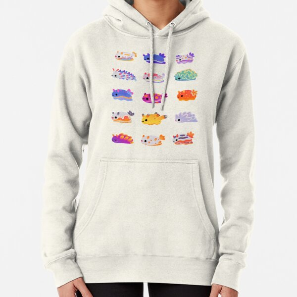 Sea Slug Day - bright Pullover Hoodie