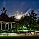 Supermoon Over Chapelfield Gardens by Ruski