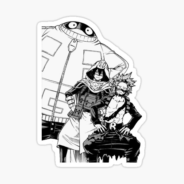 My Hero Academia - Team Fatgum Manga Cap Sticker Sticker