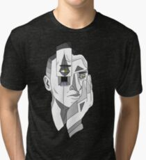 Grayscale Thoughts Tri-blend T-Shirt