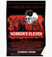 Horror's Eleven Poster